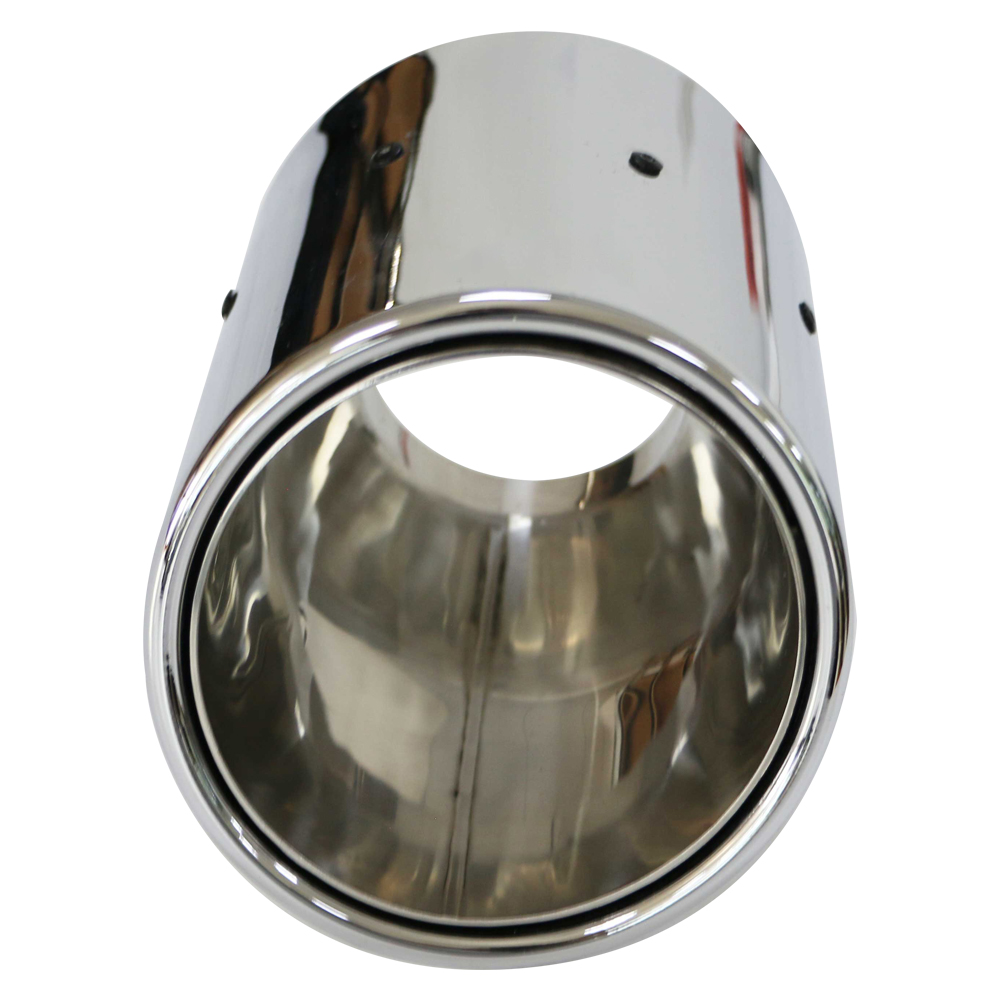 GRWA High Inox 201double Wall Mirror Polished Car Echappement Car Tip